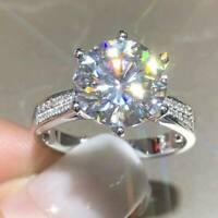 2.50 Ct Round Cut VVS1/D Diamond Solitaire Engagement Ring 14K White Gold Finish