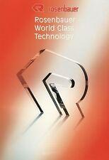 Prospekt Rosenbauer World Class Technology 6 02 2002 Unternehmen Feuerwehr