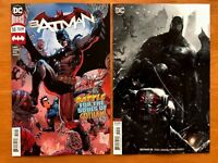 Batman 55 Tony S. Daniel Cover + Mattina Variant Set DC  2018 NM  New Costume