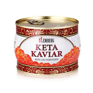 Keta Lachskaviar 400g  Lemberg Wildfang Caviar Икра красная кета