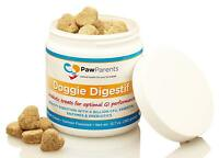 Dog Probiotics Chewable | Natural Digestive Enzymes for Dogs to Support Gut and