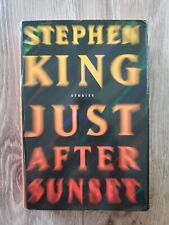 JUST AFTER SUNSET Stephen King hardcover book BRAND NEW