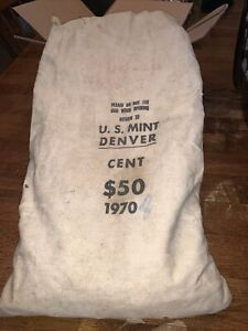1970 Denver Mint Bag $50