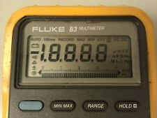 Fluke 83 Display Repair Kit for Faded LCD How To Instructions