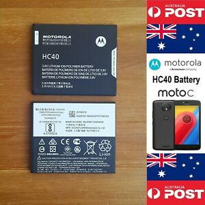 MOTOROLA HC40 GENUINE Original Battery Moto C  2350mAh  Local Seller