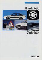 Mazda 626 Zubehör Prospekt 1987 2/87 Autoprospekt brochure accessories catalog