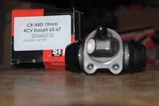 cilindro de freno de rueda trasero renault 4 cv, dauphine 1963 à1967 19mm