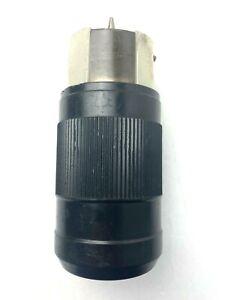 Leviton CS6364C 50 Amp 125/250 Volt AC Locking Connector California Style