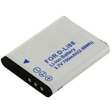 Batterie compatible avec sanyo db-l80/toshiba px1686