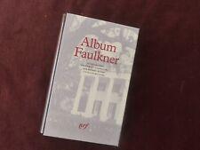 album pleiade Faulkner,1995,N° 34,proche du neuf