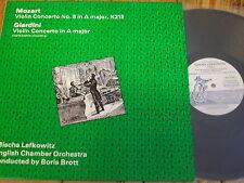 SEQ 11104 Mozart / Giardini Violin Concertos / Lefkowitz / Brott