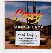 (FQ569) Crazy, Summer Camp - 2014 DJ CD