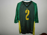Vintage Onterrio Smith Oregon Ducks #2 Nike Jersey Adult XL