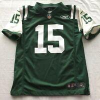 NIKE NFL Players jersey NY Jets Size L large child Marshall 15 On Field