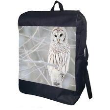 Snow Owl Backpack School Bag Travel Daypack Personalised Backpack