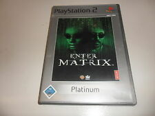 PlayStation 2 PS 2 Enter the Matrix (Platinum)