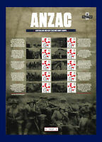 2016 CSS-32 10x1st ANZAC Day Centenary Smiler Sheet Unmounted Mint MNH bbze