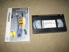 ESP VHS video-cassetta da 12//1994 MERCEDES vantaggi dinamica di guida-sistemi