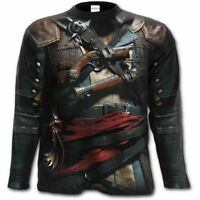 Assassins Creed T-Shirt Outlaw Gothic Graphic Long Sleeve
