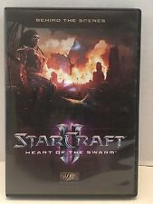 StarCraft II Heart of the Swarm Behind the Scenes 2 Disc DVD