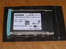 Siemens 6ES7952-1AK00-0AA0 E:05 S7-400 RAM MEMORY 1MB used as new condition