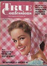 OCTOBER 1961 TRUE CONFESSIONS MAGAZINE-ROMANCE-STORY-VINTAGE ADS-RARE