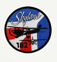 PATCH Cessna C182 Skylane Bomber Pilot Jacket sew-on iron-on large size fabric