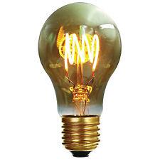 Girard Sudron LED Filament Standard Bulb '4 Loops' A60 (4w) E27 - Colour Smoky