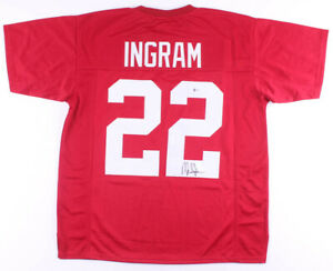 Mark Ingram Signed Alabama Crimson Tide Jersey (Beckett COA) Baltimore Ravens RB