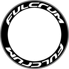 FULCRUM Carbon Bike/Cycling/Cycle/Push Bike Wheel Rim Decals Stickers Kit 2 RIMS