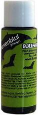 Sangre Falsa Verde Bruja Zombie (Luz) 20 ml Botella eulenspeigel Calidad