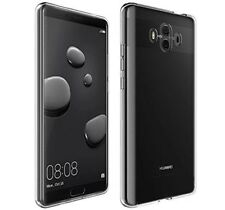 "FUNDA de GEL TPU FINA ""ULTRA-THIN"" 0,3mm TRANSPARENTE para HUAWEI MATE 10 case"