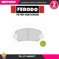 FDB351-G Kit pastiglie freno a disco ant Fiat-Lancia (FERODO)