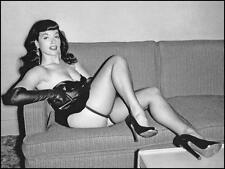 Bettie Page Hot brillante de la foto No24