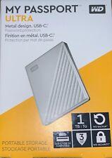 Western Digital My Passport ULTRA 1TB Portable External HDD - Silver