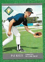 1991 Fleer Ultra Pat Kelly RC Yankees #381 NM-MT