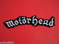 MOTORHEAD VINTAGE STRIPE HEAVY ROCK SEW/IRON ON PATCH