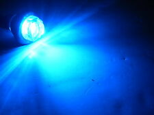 """3/4"""" Marker Light Single Blue Diode LED Truck Trailer RV 55BC hot AUX use"""
