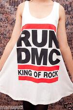 RUN DMC King Of Rock HIP HOP gd WOMEN T-SHIRT DRESS M L
