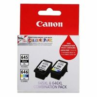 Genuine Canon PG-645XL PG645XL +CL-646XL ink cartridges for MG2965 TS3160 MG3060