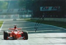 Mika Salo Hand Signed Scuderia Ferrari 12x8 Photo F1 7.