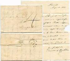 GB 1823 NORWICH MILEAGE NORFOLK to WYMONDHAM SUFFOLK 4d