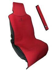 """Red Car Seat Cover for Sweat after Gym/Run/Boxing, Spills, and Pet Fur 22""""x59"""""""