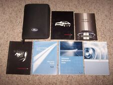 2007 Ford Mustang Shelby GT Factory Owner Operator User Guide Manual 4.6L V8 OEM