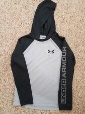 Boy's Under Armour Allseason Gear Long Sleeves Shirt Hood Size Medium