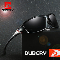 DUBERY Men Sport Polarized Sunglasses Outdoor Riding Driving Fashion Glasses New