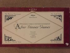 St Michael After Dinner Games Set VGC ( Contents Are Brand New)