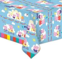 PEPPA PIG PLASTIC PARTY TABLE COVER GEORGE PIG NEW GIFT