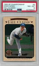 Hideo Nomo 1995 SP Championship 'FALL CLASSIC' ROOKIE PSA 8 NICE RC!  DODGERS