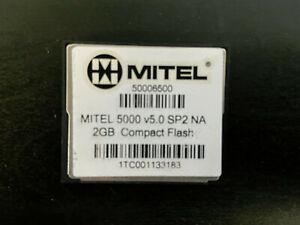 Mitel 50006500 5000 V5.0 SP2 NA 2GB Compact Flash SD Card